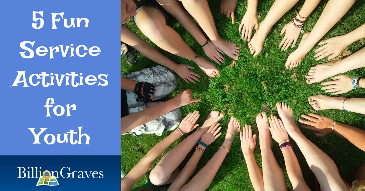 5 Fun Service Activities for Youth