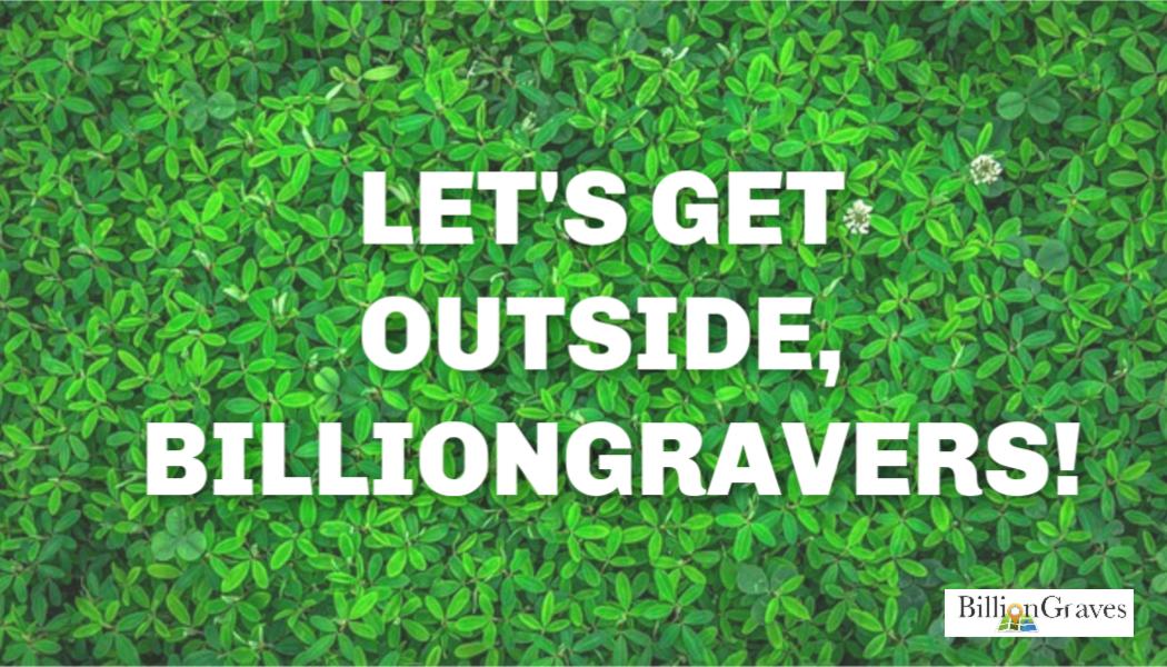 BillionGraves, cemetery documentation, gravestones, cemetery, BillionGraves, spring