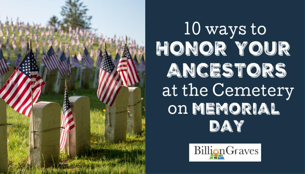 flag, Memorial Day, ancestors, BillionGraves, cemetery, gravestones, flag