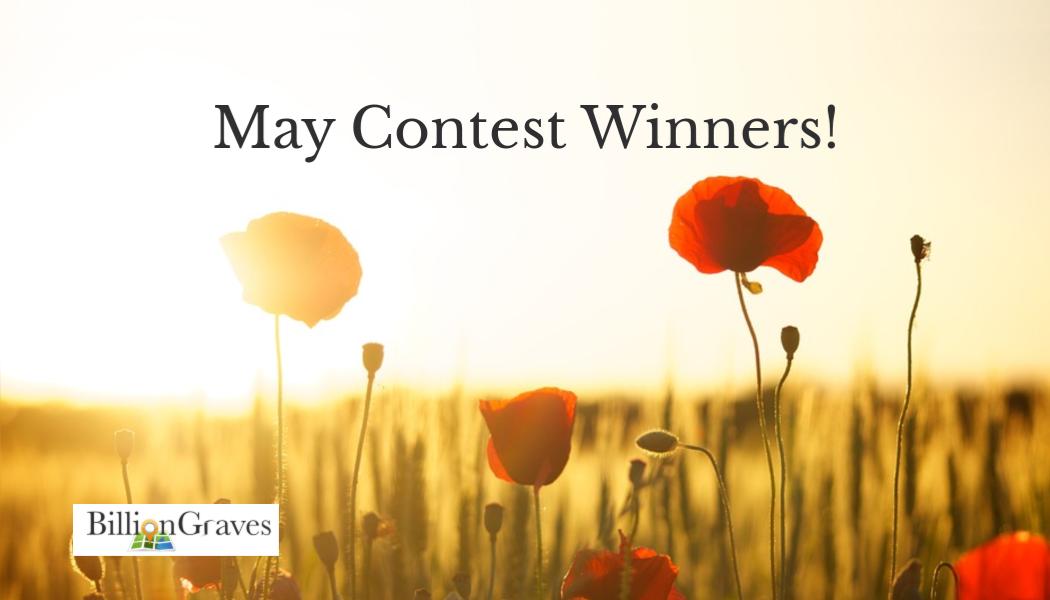 flowers, cemetery, gravestones, poppies, BillionGraves, contest, winners